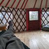 Off-Grid Yurt in the Forest