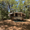 Secluded Oak Grove Popup Tenting