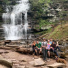 Ricketts Glen State Park Hikers