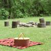 Rustic Prairie Campsite