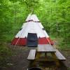 Camp 437 Tipi site