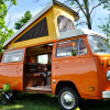 Camp Clementine- 1975 VW Bus