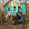 Hickory TreeHouse PlayLand & Slide!