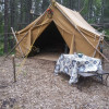 Canyon Camping: The Glamping Tent