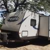 RV Camping under Hunter Oak