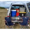 Sports SUV, full camping gear
