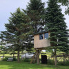 Purple Palace Tiny Tree House