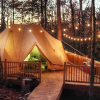 Big Luxury Tent w/ Cozy Wood Stove