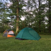 Country Farm Tent Camping