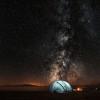Stargazing tent in Dark Sky Zone