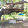 Texas Treehouse Swings Forest