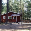 Whitetail cabin at 'Back of Beyond'