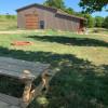 Barnyard campsite