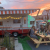 Vintage Caravan in Rockaway Beach