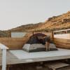 BIG 6. Big, scenic tent platform