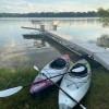 Lake front camping!