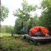 Tent Platforms at D Acres Farm