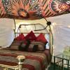 Glamorous Camping in the Lotus