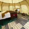 Off Grid Glamping Tent on the River