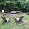 Backyard camping near college town