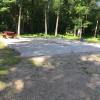 Quiet backyard RV site full hookup