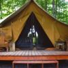Safari Tent-N-Breakfast on FLX Pond