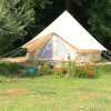 """Glamping"" site on flower farm!"