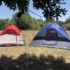 Four man Blue Tent