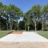 Back-In Concrete RV Site - Large
