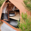 Green House Pitched Tent