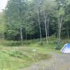 Rural, meadow camping in VT