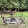 Camper / RV site by Lake Michigan