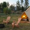 Glamping Tents at Lake Hemet