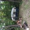 Rustic woods camping