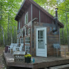 Private tiny house in woods