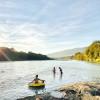Skagit river camping.