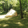 McCully bell tent glampsite