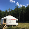 The Yurt at Good Bones Homestead
