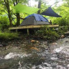 Creek's Edge Tent Platform
