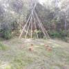 Teepee - BYO tent