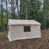 Cozy Wall Tent in Trees Clatskanie
