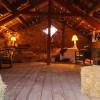 Hay loft in 1880 Stone Barn in Mont