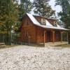 Hampton Amish Log Cabin