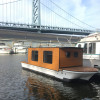 Urban Glamping In a Floating Cabin