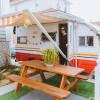 Vintage Caravan in Rockaway Beach