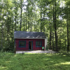 Remote cabin in the woods