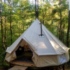 Canvas Woodstove Tent at Parksland