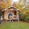 Cabin By The Rocks, on 52 acre farm