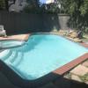 Modern camper with pool & hot tub!