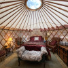 Romantic Stay In Hands Painted Yurt